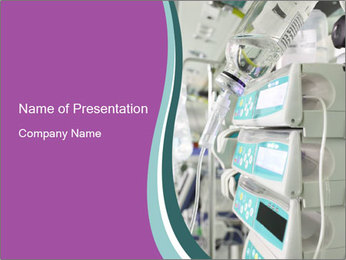 Medical Equipment PowerPoint Template