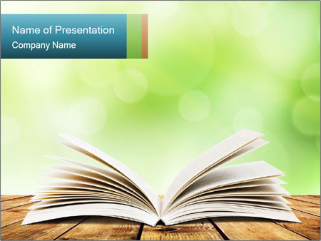 Powerpoint Book Template from images.smiletemplates.com
