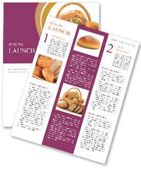 Tasty Bread Newsletter Template