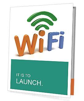 WiFi Sybol Presentation Folder