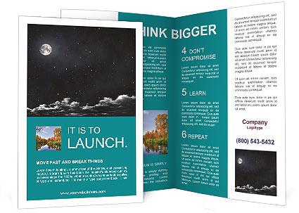 Mystic Night Brochure Template