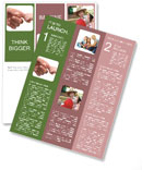 Connection Between Mother And Baby Newsletter Template
