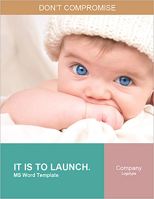 Blue-eyed baby Lexicale template - Pagina 1
