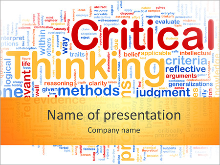 critical thinking workshop ppt