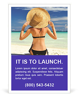 Perfect Summer Vacation Ad Template