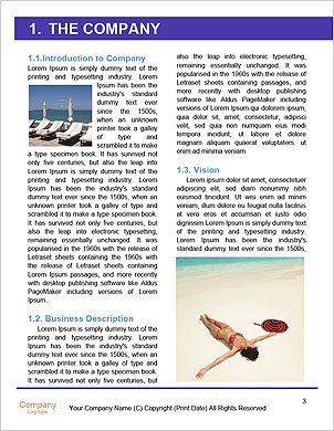 Perfect Summer Vacation Word Template - Page 3