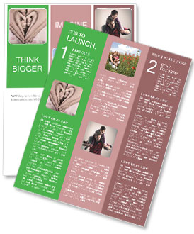 Parents Hold Childs Hand Newsletter Template