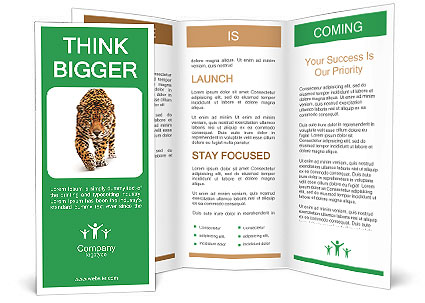 Leopard Brochure Template