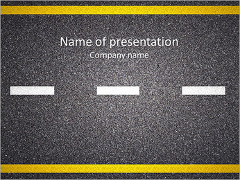Roads Powerpoint Templates Backgrounds Google Slides