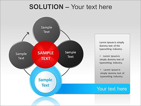 解决方案 PowerPoint间图和图表 - 滑 15