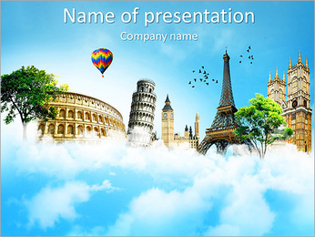 Travel Powerpoint Templates Backgrounds Google Slides