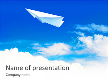 Air Transport PowerPoint Templates & Backgrounds, Google