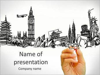 Travel PowerPoint Templates & Backgrounds, Google Slides