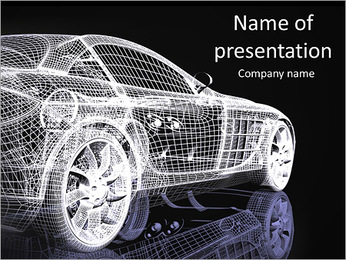 Cars PowerPoint Templates & Backgrounds, Google Slides