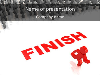 Finish PowerPoint Template
