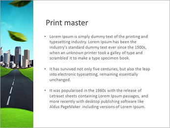 Eco City PowerPoint Template