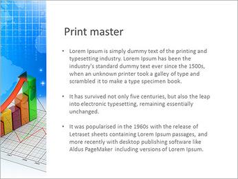 Diagramme coloré Modèles des présentations  PowerPoint