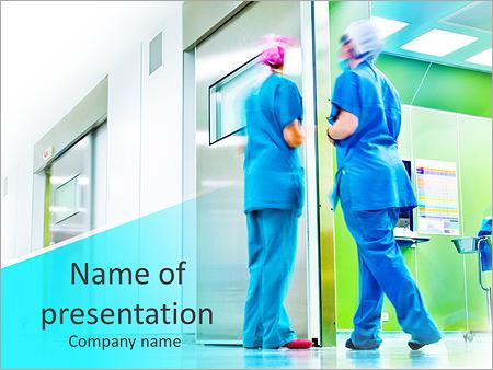 Medical Nurse Powerpoint Template Infographics Slides