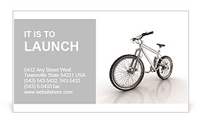 New Bicycle Business Card Template