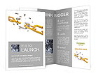 Golden Chain Brochure Template