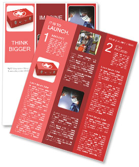 First Aid Kit Newsletter Template