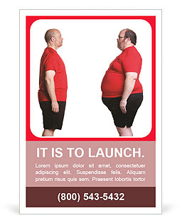 Lose Weight Ad Template