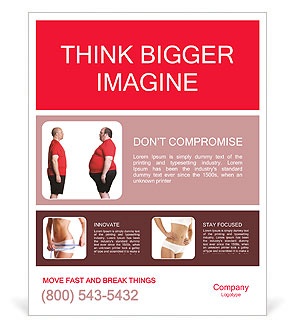 Lose Weight Poster Template