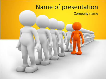 Different From Others PowerPoint Template