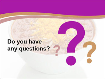 Bowl of Beans PowerPoint Template