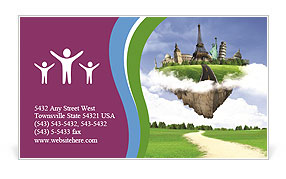 0000064775 Business Card Template