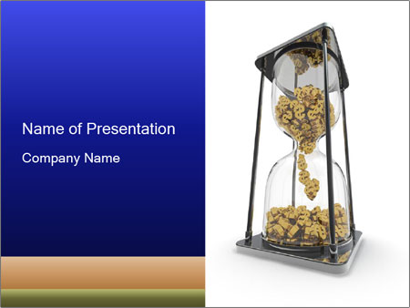 Cost of Money PowerPoint Template