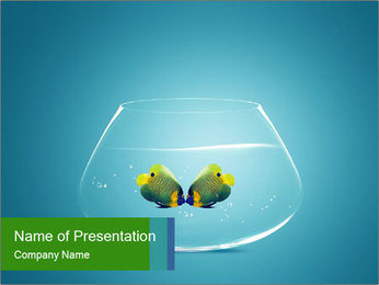 Fish Couple PowerPoint Template