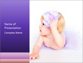 Small Angel PowerPoint Template