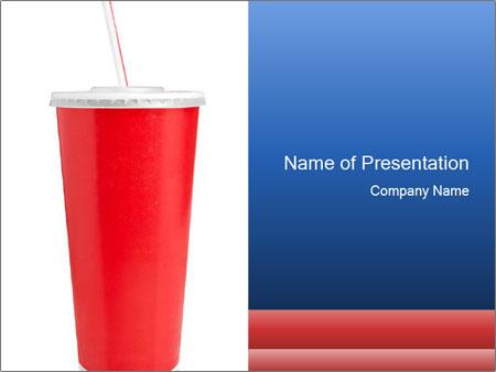 Red Cup of Coke PowerPoint-Vorlagen