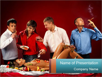 Bachelor Party PowerPoint Template