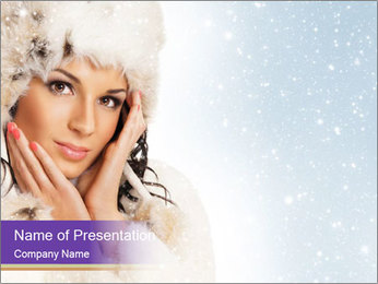 Winter Style PowerPoint Template