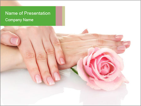 Nail Therapy PowerPoint Template