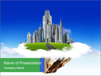 Cuty of my dream PowerPoint Template