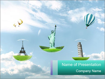 Dream Vojage PowerPoint Template