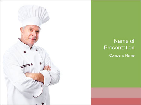 Top Chef Cook PowerPoint Template & Infographics Slides