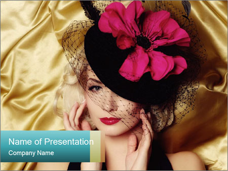 High Fashion PowerPoint Template