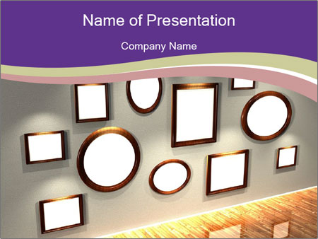 Photo Gallery PowerPoint Template