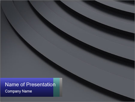 Metallic Surface PowerPoint Template