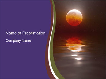 Cosmic Sunset PowerPoint Template