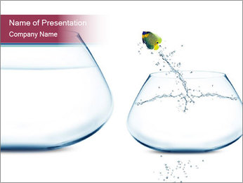 Jumping Fish PowerPoint Template