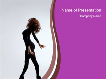 Artistic Dancer PowerPoint Template