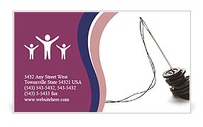 0000065783 Business Card Template