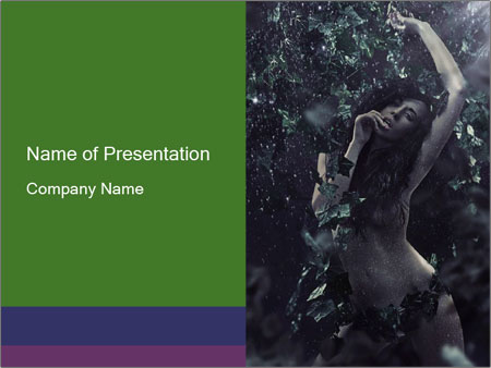 Photo in Nature Scenery PowerPoint Template