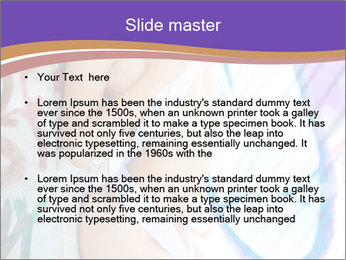 Erotic Model PowerPoint Template