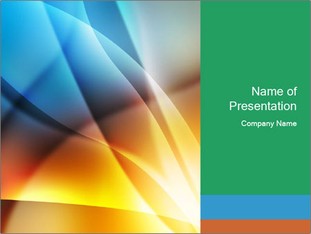 Abstract Shape PowerPoint Template